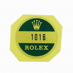 1016 Rolex Case Back Sticker Explorer Steel
