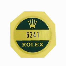 6241 Rolex Case Back Sticker Daytona Paul Newman