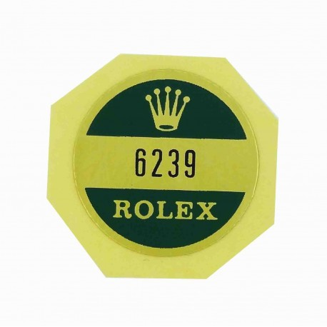 6239 Rolex Case Back Sticker Daytona Paul Newman