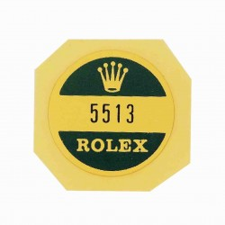 5513 Rolex Case Back Sticker Submariner Steel Automatic No Date