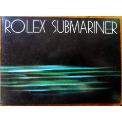 ROLEX SUBMARINER BOOKLET
