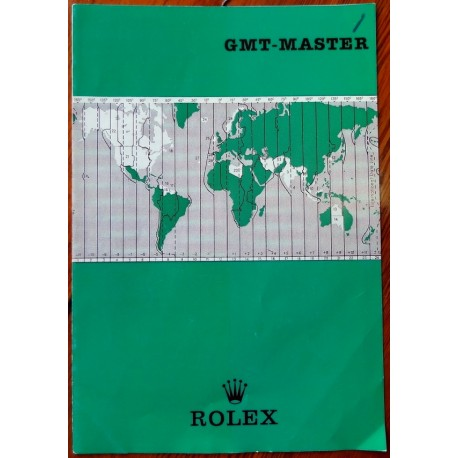 Rolex - Vintage 60/70iger GMT-MASTER Broschüre Booklet 1675 - Herren - 1960-1969 N.O.S