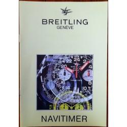 Breitling - NAVITIMER Broschüre / Katalog