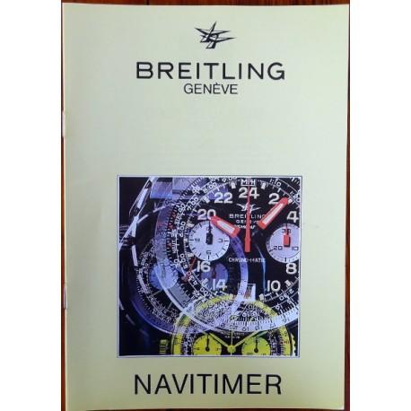 Breitling - NAVITIMER Broschure / Katalog