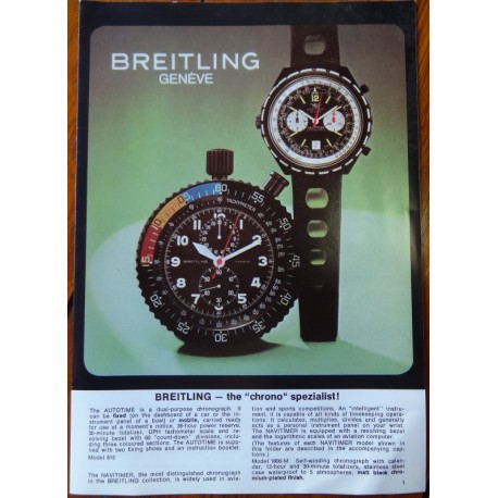 Breitling spezial Broschüre