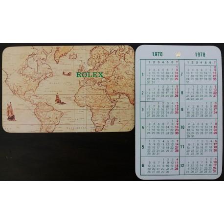 ROLEX Pocket Calendar Submariner Daytona Explorer GMT Daydate Milgauss Datejust