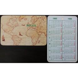ROLEX Pocket Calendar 1985 1986 Sea Dweller Daytona Submariner Explorer Daydate GMT OEM
