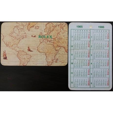 ROLEX Taschenkalender 1985 1986 Sea Dweller Daytona Submariner Explorer Daydate GMT OEM
