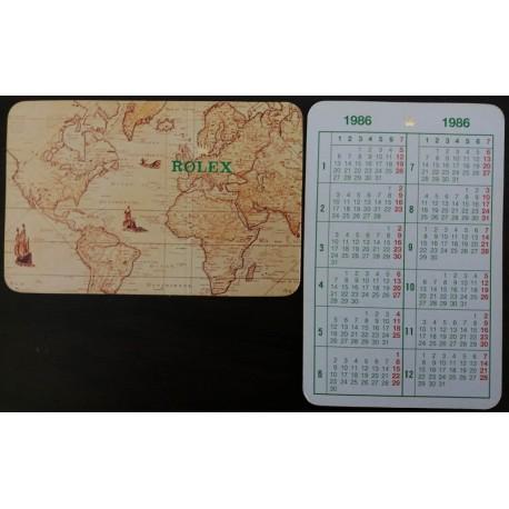 ROLEX Taschenkalender 1986 Sea Dweller Submariner Daytona Explorer GMT Datejust Daydate