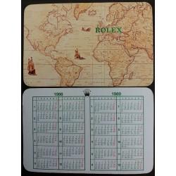 ROLEX 1988 1989 Vintage Taschenkalender Milgauss Daytona Explorer Submariner GMT Date