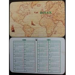 ROLEX 1990 1991 Pocket Calendar Daytona 16520 Submariner 16610 GMT 16710 Explorer 16570
