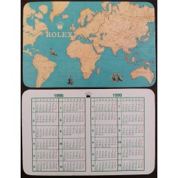 ROLEX 1994 1995 Pocket Calendar Daytona Explorer Submariner GMT Sea-Dweller Day-Date
