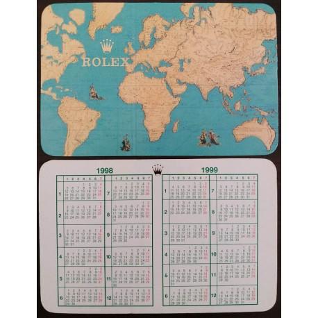 ROLEX 1998-1999 Taschenkalender