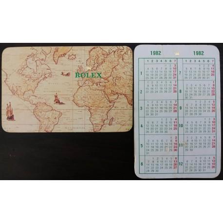 ROLEX 1982 Pocket Calendar Explorer Daytona Cosmograph Submariner Sea Dweller Datejust