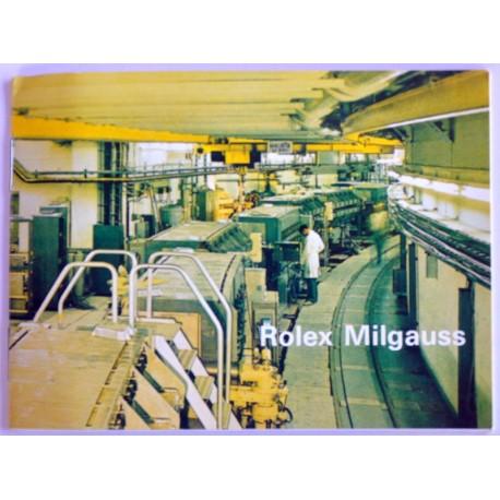 ROLEX VINTAGE MILGAUSS BOOKLET 1019 RARE
