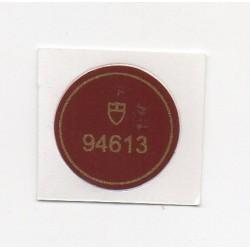 94613 Tudor Caseback Sticker Vintage Oyster Prince Date + Day Stahl Gold Automatik