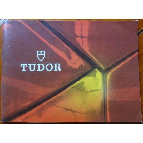 Original Vintage Tudor Gebrauchsanweisung der 1970er Jahre