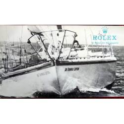 VINTAGE ROLEX 60'S WERBEBUCH EL RELOJ DEL NAVEGANTE