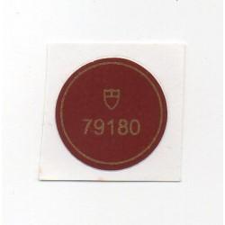 79180 Tudor Caseback Sticker Vintage Oysterdate Stahl Automatik - Schweizer Uhr