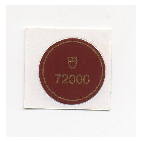 72000 Tudor Caseback Sticker Vintage Prince Ranger Date Stahl - Schweizer Uhr