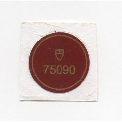 75090 Tudor Vintage Caseback Sticker Submariner Prince Oysterdate - Schweizer Uhr