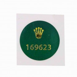 169623 Rolex Caseback Sticker Yachtmaster Steel Gold Lady