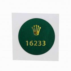 16233 Rolex Caseback Sticker Vintage Date Just Steel Gold Automatic