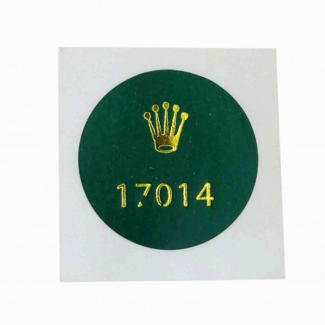 17014 Rolex Caseback Sticker Date Just Oysterquartz Stahl Lünette Weißgold 36mm