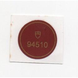 94510 Tudor Case Back Sticker Vintage Oyster Prince Date + Day Stahl Automatik - Schweizer Uhr