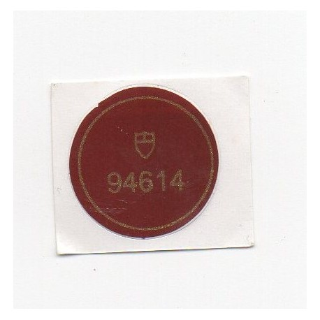 94614 Tudor Case Back Sticker Prince Date + Day Automatic Steel - Swiss Watch