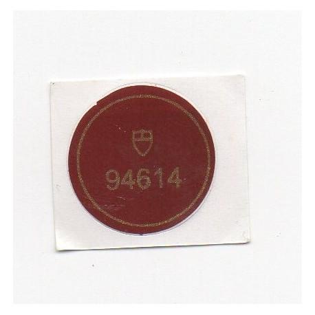 94614 Tudor Case Back Sticker Prince Date + Day Automatik Stahl - Schweizer Uhr