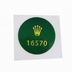 16570 Rolex Case Back Sticker Explorer II Stahl
