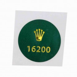16200 Rolex Vintage Case Back Sticker Date Just Steel 36mm