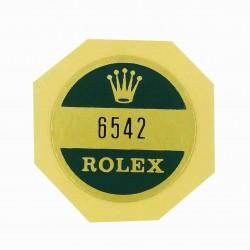 6542 Rolex Case Back Sticker GMT Master Stahl